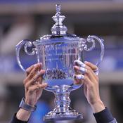 La coupe de l'US Open