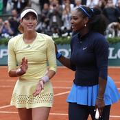 Serena félicite son adversaire