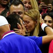 Djokovic et sa femme