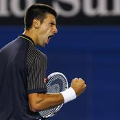 Djokovic poing serré