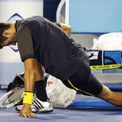 Djokovic s'étire