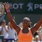 Serena en perd sa raquette