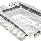 Roland Garros - Nouveau court
