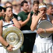 Bartoli et Lisicki avec leur trophée