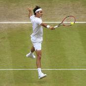 Federer au filet