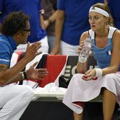 Fed Cup : Mladenovic cède, la France dos au mur