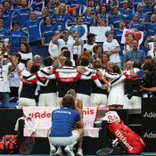 Fed Cup : des sourires bleus pour finir