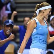 Fed Cup : Au bout du suspense, les Bleues se hissent en demi-finales