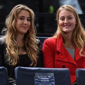Belinda Bencic et Kristina Mladenovic