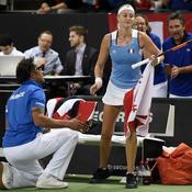 Fed Cup : Les Bleues éliminées, Mladenovic fusille Garcia
