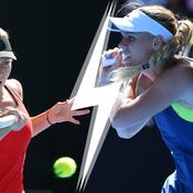 Halep/Wozniacki : un choc pour des premières