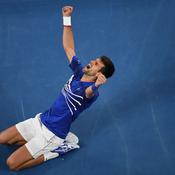 La domination de Djokovic en Australie en chiffres