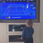 Le premier fan de Novak Djokovic, son fils de 15 mois