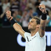 Nadal dompte Raonic et retrouve le dernier carré d'un Grand Chelem