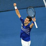 Open d'Australie : Pouille balayé par Djokovic