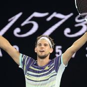 Open d'Australie: Thiem terrasse Nadal pour la première fois en grand chelem et se qualifie pour les demies