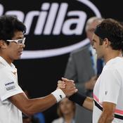Open d'Australie : Chung abandonne et offre une nouvelle finale à Federer
