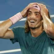Open d'Australie : Tsitsipas renverse la légende Federer