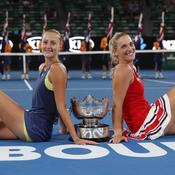 Open d'Australie: Mladenovic retrouve le sourire en remportant le double dames