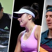 Open d'Australie : Pouille, Del Potro, Andreescu … Qui sont les grands absents ?
