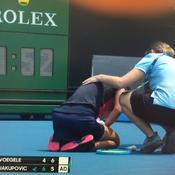 Open d'Australie : premiers malaises et entraînements suspendus