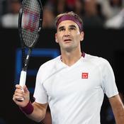 Open d'Australie : Malgré un retard à l'allumage, Federer file en quarts