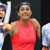 Wozniacki, Garcia, Djokovic... ce qu'il faut retenir de la nuit à l'Open d'Australie