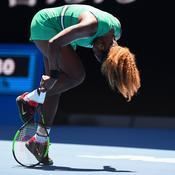 Serena Williams chute malgré quatre balles de match