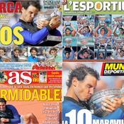 «D10S», «Formidable», «Propriétaire» : la presse espagnole et européenne se prosterne devant Nadal