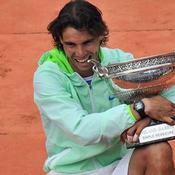 Rafael Nadal Roland Garros 2010