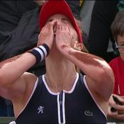 Fin de match houleuse entre Cornet et Maria