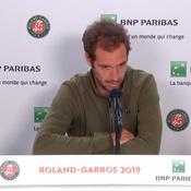 Gasquet : «Toujours des interrogations, mais content d'avoir gagné»