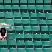 La pluie s'invite à Roland-Garros
