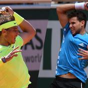 Nadal-Thiem, le duel en chiffres