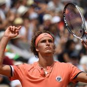 Roland-Garros : Zverev s'en sort encore en cinq sets