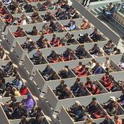 Roland-Garros : le personnel du tournoi invité pour combler les loges vides du court Central