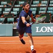 Roland-Garros : Pouille sans trembler face à Medvedev