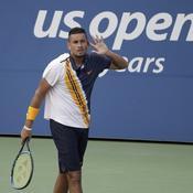 US Open : encouragé par l'arbitre, Kyrgios renverse Herbert