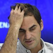 Federer énervé par une question : «J'ai entendu cette merde trop souvent»