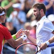 David Ferrer Gilles Simon US Open