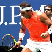 US Open : Nadal lâche encore un set mais rejoint Thiem en quarts de finale