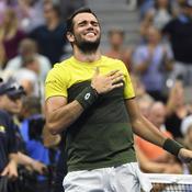 US Open : Matteo Berrettini, l'embellie italienne