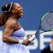 US Open : Serena Williams en quarts de finale en perdant un set