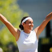 Pour la première fois, Garcia s'invite en 2e semaine à Wimbledon