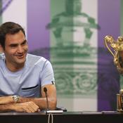 Pour fêter son 8e Wimbledon, Federer a «mélangé un peu trop d'alcools»