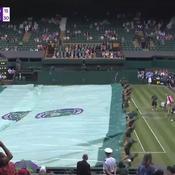 Wimbledon : 17 secondes seulement pour bâcher le Centre Court sous la pluie