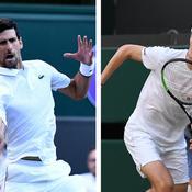 Wimbledon: Djokovic (vraiment) trop fort pour Humbert