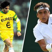 Wimbledon: légende du FC Nantes, Burruchaga encourage son fils au tournoi junior