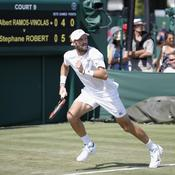 Wimbledon : Stéphane Robert, le bonheur est dans le pré