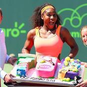 Serena franchit le cap des 700 victoires